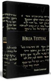 Biblia De Estudo Textual Preta Luxo