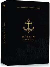 Bíblia AEC letra grande – preto luxo