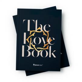Biblia Love Book Coroa Livro do Amor - Capa dura NAA