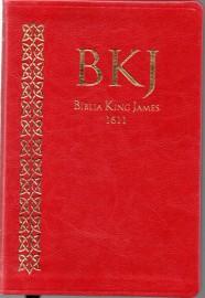 Biblia King James 1611 Ultra Fina Vermelha