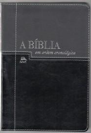 Biblia Em Ordem Cronologica Preta E Negra