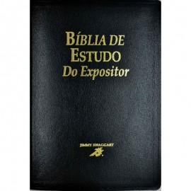 Biblia De Estudo Expositor Preto Luxo