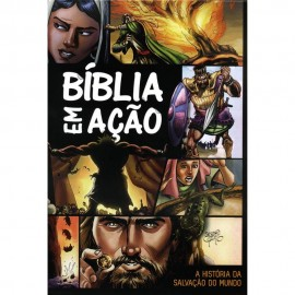 Biblia Em Acao Capa Dura Para Jovens