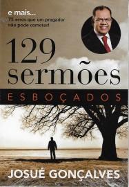 129 Sermões Esboçados  Josue Gonçalves