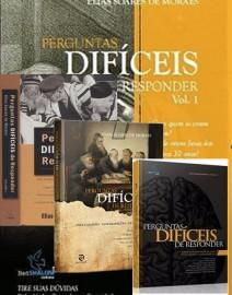 kit Perguntas Dificeis De Responder 4 volumes