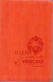 Biblia  Almeida Contemporanea Leão Laranja