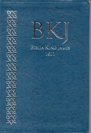 Biblia King James Ultra Fina Azul  1611 Bkj