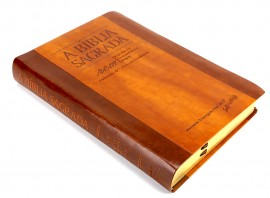Biblia  Rcm Acf  Marrom Havana Luxo