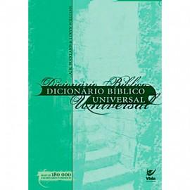 Dicionário biblico universal capa brochura