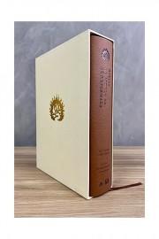 Bíblia de Estudo da Fé Reformada luxo marrom