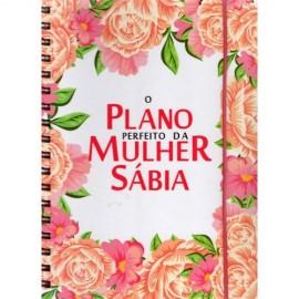 O Plano Perfeito da Mulher Sábia - Branco Flores Planner
