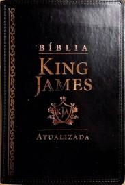 bíblia King James de estudo ra Preta luxo