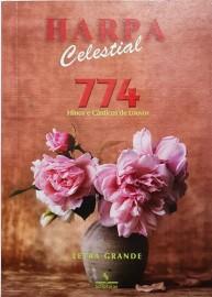 Harpa PQ. Brochura c. 774 hino letra grande  buquê