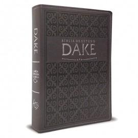 Bíblia De Estudo Dake Cinza