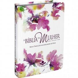 BIBLIA DA MULHER MEDIA AQUARELA NTLH