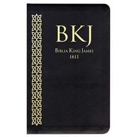 Biblia King James Ultra Fina Preta 1611 Bkj