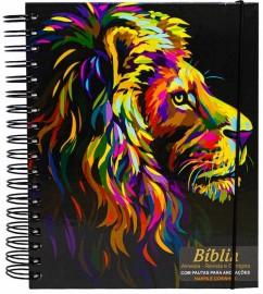 Bíblia Sagrada com Pautas para Anotações – Pintura Perfil