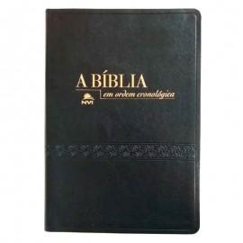 Biblia Em Ordem Cronologica Preta Luxo