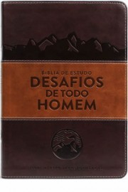Biblia Desafios De Todo Homem Marrom - Nvt