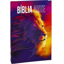 Biblia Leão Arte Naa Capa Dura Sbb