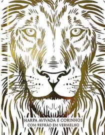 Harpa Avivada e Corinhos pequena Brochura M.06 leão B e V