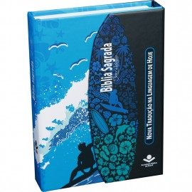 biblia carteira surf azul ntlh