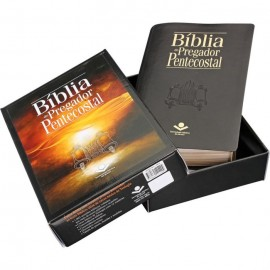 Biblia Do Pregador Pentecostal Preto luxo rc