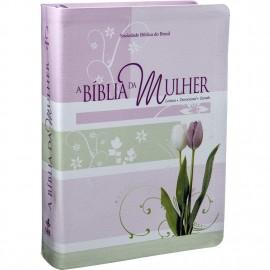 Biblia Da Mulher Media Tulipa Ra