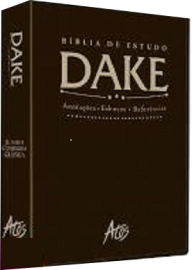 Biblia De Estudo Dake marrom