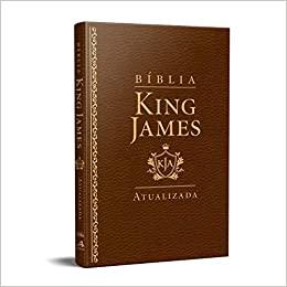 Bíblia King James Atualizada Slim Kja marrom