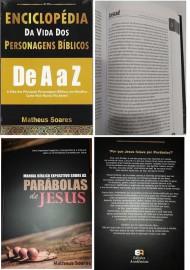 Kit 1 Enciclopédia e 1 sobre as parábolas de Jesus