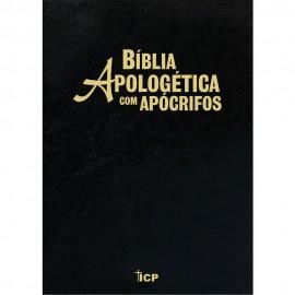 Biblia Apologetica Com Apocrifos Preta