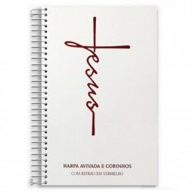 HARPA CRISTÃ  ESPIRAL L. HIPERGIGANTE  JESUS BRANCA CPP