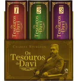 Tesouros De Davi 3 Volumes  Spurgeon