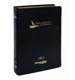 Bíblia de Estudo - Do Díscipulo luxo preta