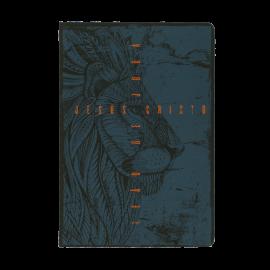 Biblia Nvt Leão De Juda Azul