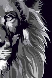 Bíblia Nvt 960 Lion Colors Black & White L. branco