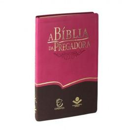 Biblia Da Pregadora Grande  Ra Pink E Marrom