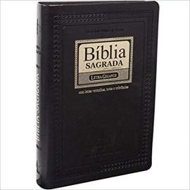 Biblia Letra Gigante Preto Nobre Pjv Luxo