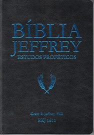 Biblia De Estudo Jeffrey Preto Azul