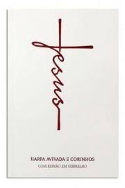 Harpa Hinario Brochura Hipergigante Mod. 08 Jesus Branco Cpp