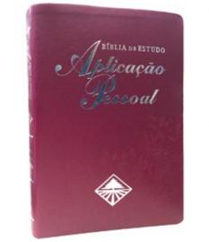 BIBLIA APLICACAO PESSOAL MEDIA ROXA