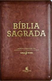 Bíblia Leitura Perfeita  Acf Capa Marrom luxo