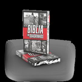 Bíblia em Quadrinhos - capa dura - Vermelha