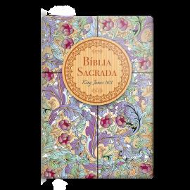 Bíblia King James capa especial Cálamo e Canela