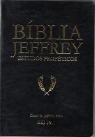 Biblia De Estudo Jeffrey Preto Dourado