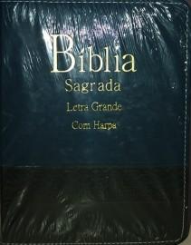 BIBLIA TIJOLINHO BICOLOR L. GRANDE C. HARPA PEIXINHO