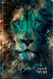 Bíblia Sagrada Leão estrela capa dura – NVI