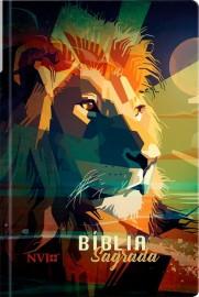 Bíblia Sagrada Leão colorido – NVI
