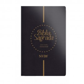 Bíblia Sagrada NVI Gigante - Capa Luxo Preta